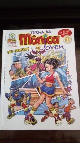 Turma da Mônica Jovem edições do 1 ao 24