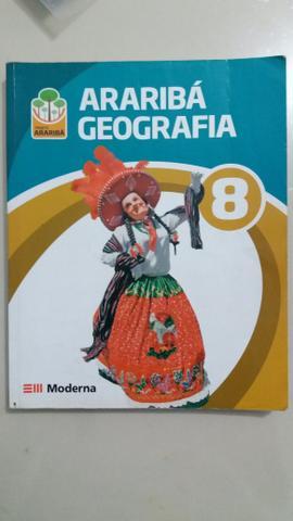 Livro Araribá Geografia 8° ano, editora Moderna