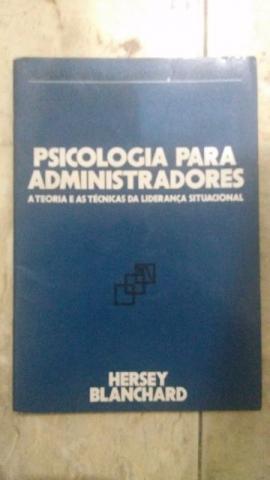 Livro Psicologia para Amadores - Hersey Blanchard