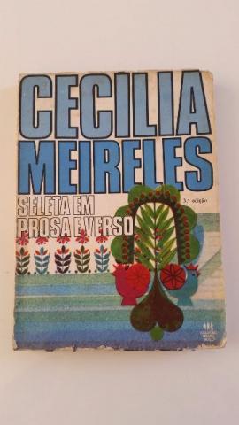 Livro Seleta em prosa e verso de Cecília Meireles