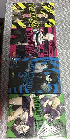 Manga - Blood Lad - 1, 2, 3 e 4