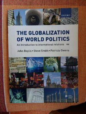 The Globalization of World Politics 4 Edition - Relações