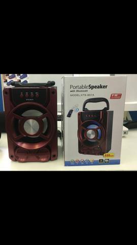 Caixa de som portable speaker