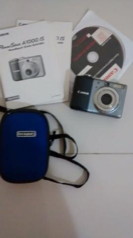 Máquina fotografica canon