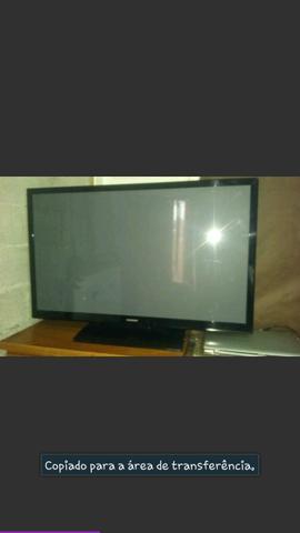 """Vendo ou Troco TV Plasma 43"""""""