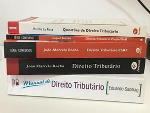 05 Livros de Direito Tributário em Teoria e Exercícios