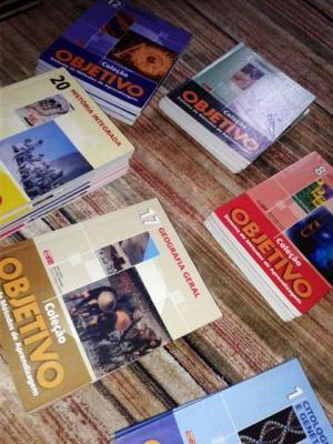 Coleção de Livros Didáticos Objetivo