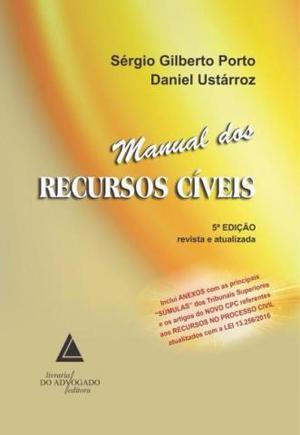 Livro Manual dos Recursos Cíveis