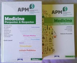 Livro Medicina Perguntas e Respostas (+1 grátis)