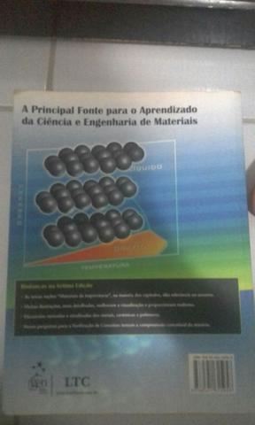 Livro ciência e engenharia dos materiais