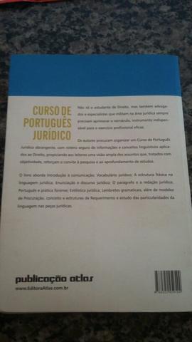 Livro curso de português jurídico
