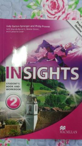 Livro de inglês Insights 2