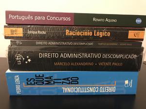 Livros de estudos para concursos