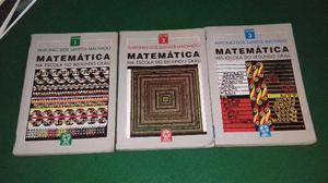 Matemática na Escola do Segundo Grau - Volumes 1, 2 e 3