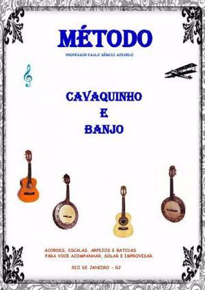 Método de cavaquinho e banjo