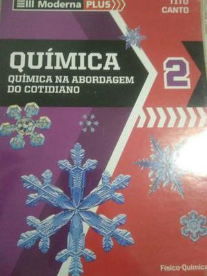 Química ll tres livros + caderno de atividades
