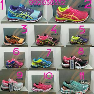 Tênis Asics gel feminino (vários style)