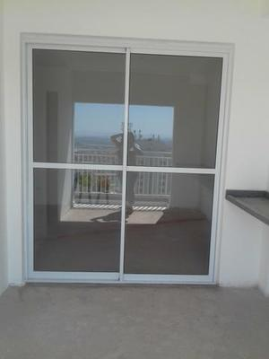 Porta de aluminio 2.00 x 2.16 nova