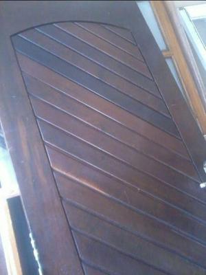 Porta madeira macica 25 anos
