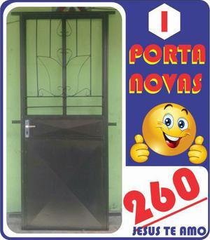 Portas e janelas de ferro novas