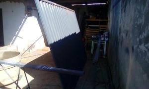 Portões lambril/ fabricação e montagem de estrutura