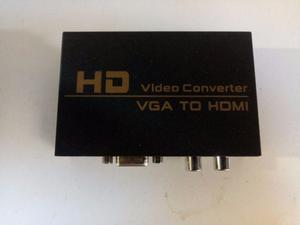 Adaptador Conversor Vga Para Hdmi Com Áudio P/xbox360 Ps3