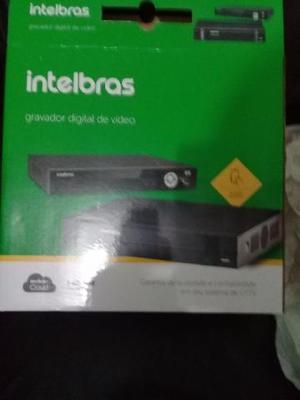 DVR 16 Canais Intelbras Hibrido com HD 3TR novo na caixa