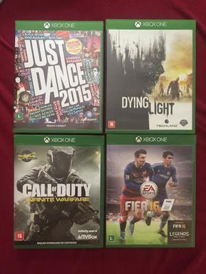 Jogos Xbox One kit 4 jogos