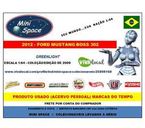 Miniatura 164 Ford Mustang Boss-302 de  da Greenlight