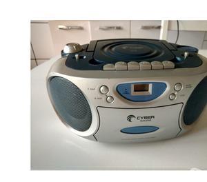 vendo radio gravador 3 em 1