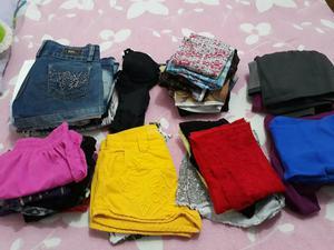 Lote de roupas para bazar ou brechó c 38 peças