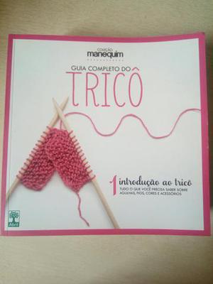 Coleção de Livros de Tricô e Crochê
