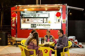Food Truck Trailler de Sushi Kenshin Sushi