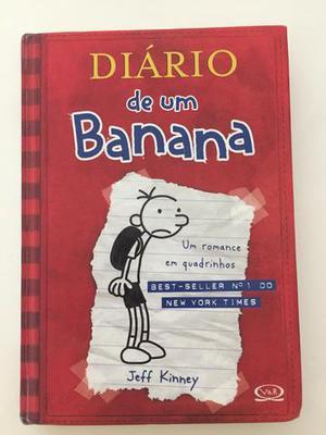 Kit de livros (5 livros) DIÁRIO DE UM BANANA