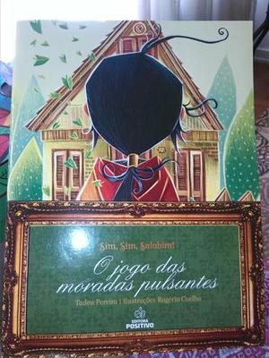 Livro: O JOGO DAS MORADAS PULSANTES semi novo!!!