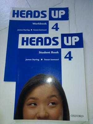 Livro de inglês, Oxford, Heads Up 4
