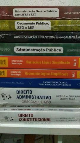 Livros novos para concurso Raciocínio Lógico, Direito