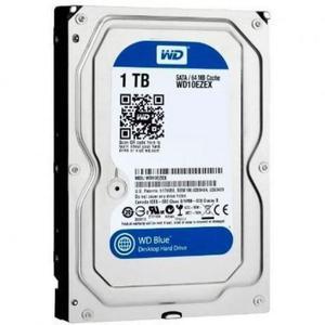 HD Interno 1TB Western Digital Sata Blue 3.5 WD10EZEX -