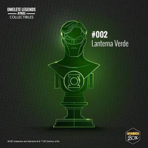 Busto Lanterna Verde Omelete box