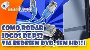 Jogos de PS2 Via Pen Drive