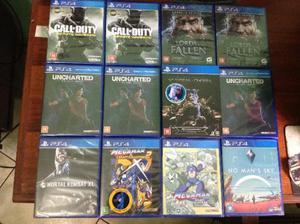 Jogos de PS4 Lacrados (Leia a descrição)