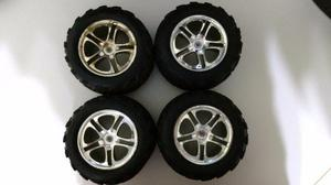 Rodas E Pneus Traxxas T-maxx E Revo 3.3 (4 Peças)
