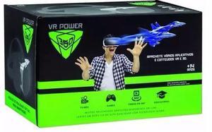 Óculos Realidade Virtual 3d Vr Power 360 Celular Original
