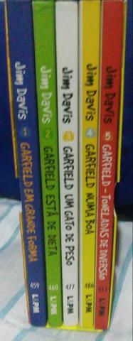Coleçao livros Garfield ilustrado