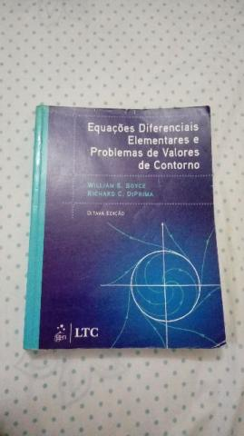 Livro Equações Diferenciais Elementares E Problemas de