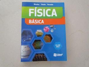 Livro de Física Volume único Editora Atual (Ens.Médio)
