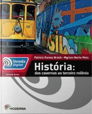 Livro de história coleção vereda digital vol.único