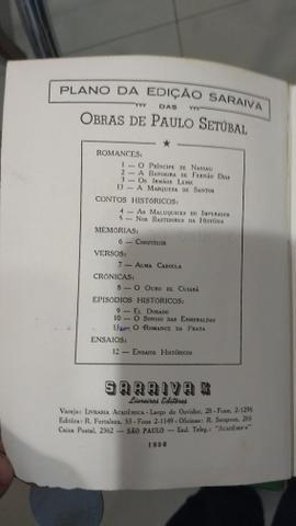 Obra literária antiga - Artigo para colecionadores