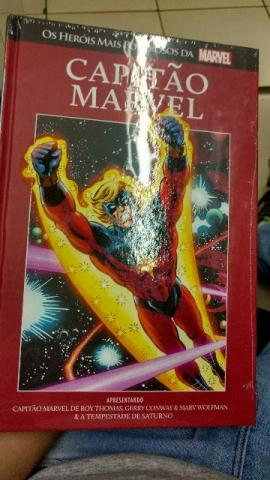Capitão Marvel - Edição De Luxo Em Capa Dura