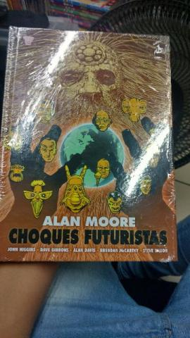 Choques Futuristas - Alan Moore - Capa Dura Lacrada